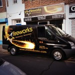 YTM Fireworks Van & Shop Advertising