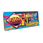 Celebration Selection Box with 19 various fireworks