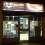 London Fireworks Shop Whetstone Front Shot